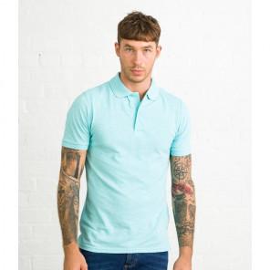 AWDis Surf Melange Piqué Polo Shirt