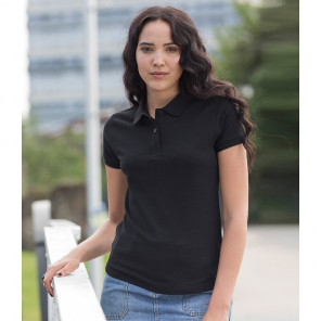 AWDis The 100 Cotton Ladies Piqu+® Polo Shirt