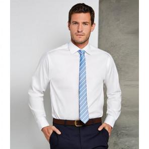 Kustom Kit Premium Long Sleeve Classic Fit Oxford Shirt