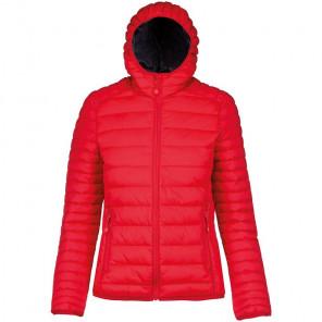 Kariban Ladies Lightweight Hooded Padded Jacket