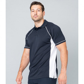 Finden and Hales Performance Panel Polo Shirt