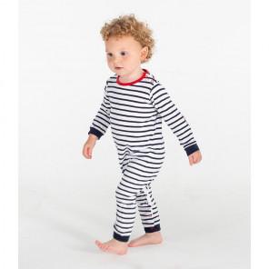 Larkwood Baby Long Sleeve Striped Bodysuit