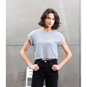 Mantis Ladies Organic Cropped T-Shirt