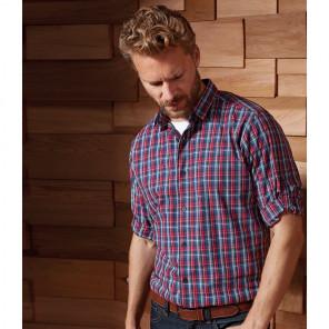 Premier Sidehill Check Long Sleeve Shirt
