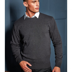 Premier Cotton Rich Crew Neck Sweater
