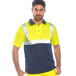 Portwest Hi-Vis Two Tone Polo Shirt