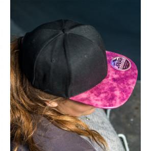 Result Bronx Glitter Snapback Cap
