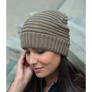 Result Braided Fleece Lined Hat