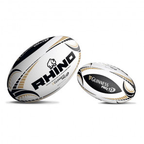GUINNESS PRO12 WHITE REPLICA RUGBY BALL