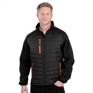 Result Black Compass Padded Jacket
