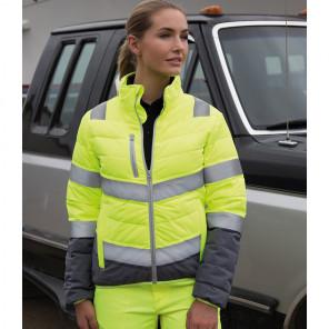 Result Safe-Guard Ladies Soft Safety Jacket