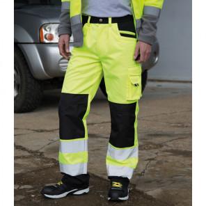 Result Safe-Guard Hi-Vis Cargo Trousers