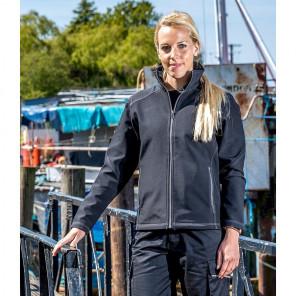 Result Work-Guard Ladies Treble Stitch Soft Shell Jacket