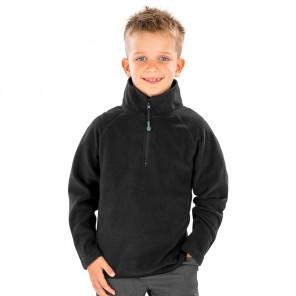 Result Genuine Recycled Kids Zip Neck Micro Fleece