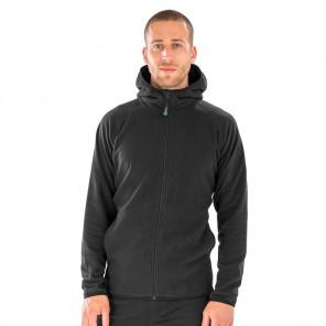 Result Genuine Recycled Hooded Micro Fleece Jacket