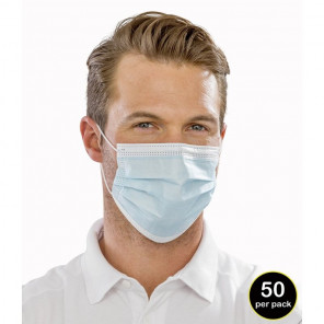 Result Type IIR 3-Ply Disposable Face Mask