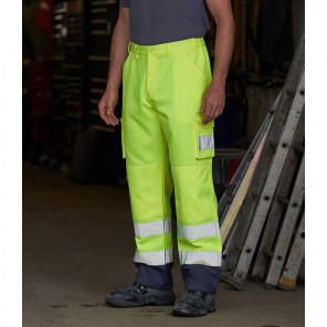 Pro RTX High Visibility Cargo Trousers