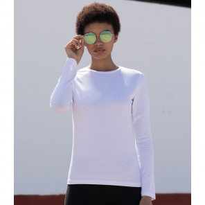 SF Ladies Feel Good Long Sleeve Stretch T-Shirt