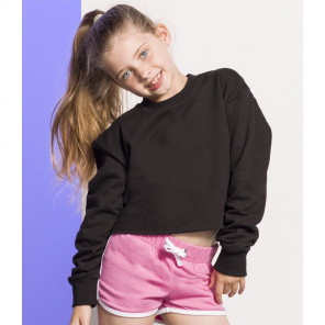 SF Minni Kids Cropped Slounge Sweatshirt