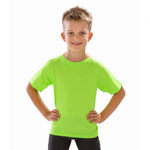 Spiro Kids Impact Performance Aircool T-Shirt