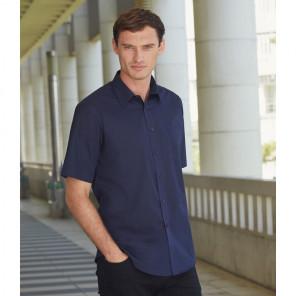 Fruit of the Loom Short Sleeve Poplin Shirt