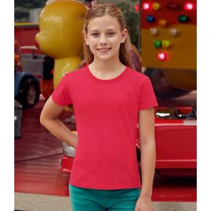 Fruit of the Loom Girls Value T-Shirt