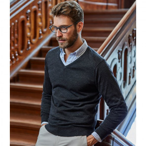 Tee Jays Merino Blend V Neck Sweater