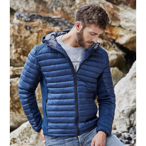 Tee Jays Crossover Hooded Padded Outdoor Jacket