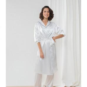 Towel City Ladies Satin Robe