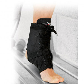 PRECISION NEOPRENE ANKLE BRACE WITH STAYS