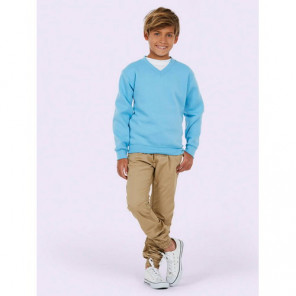 Uneek Clothing Childrens V Neck Sweatshirt