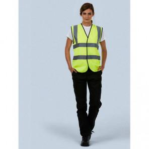 Uneek Clothing Sleeveless Safety Waist Coat