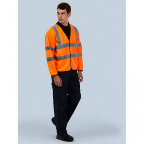 Uneek Clothing Long Sleeve Safety Waist Coat