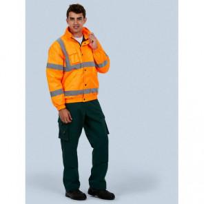 Uneek Clothing High Visibility Bomber Jacket