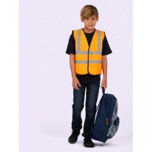 Uneek Clothing Childrens Hi-Viz Waist Coat